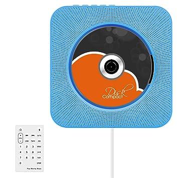 Bluetooth-CD-Player, VIFLYKOO Wand montierbar HiFi: Amazon.de ...