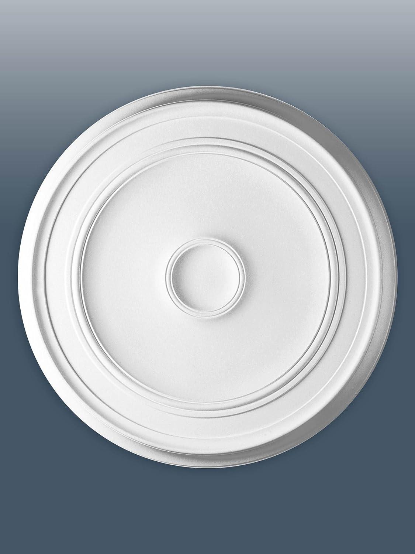 ORAC R76 LUXXUS Ceiling Rose Rosette Medallion Centre quality polyurethane classic style white   62cm = 25 inch diameter Orac Decor
