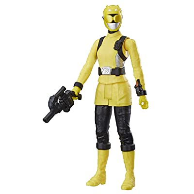 Hasbro Power Rangers Beast Morphers Yellow Ranger 12-inch Action Figure Toy with Accessory, Inspired by The Power Rangers TV Show: Toys & Games