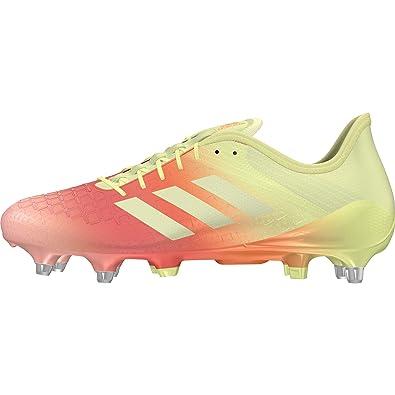 huge sale e9df7 6bdbd adidas Predator Malice Control (SG) Chaussures de Rugby Homme, Jaune  (Amahie