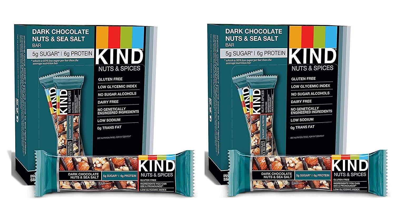 KIND Bars (Dark Chocolate Nuts & Sea Salt, 24 Bars)