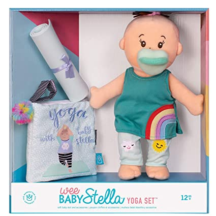 Amazon.com: Manhattan Toy Wee Baby Stella - Muñeca de bebé ...