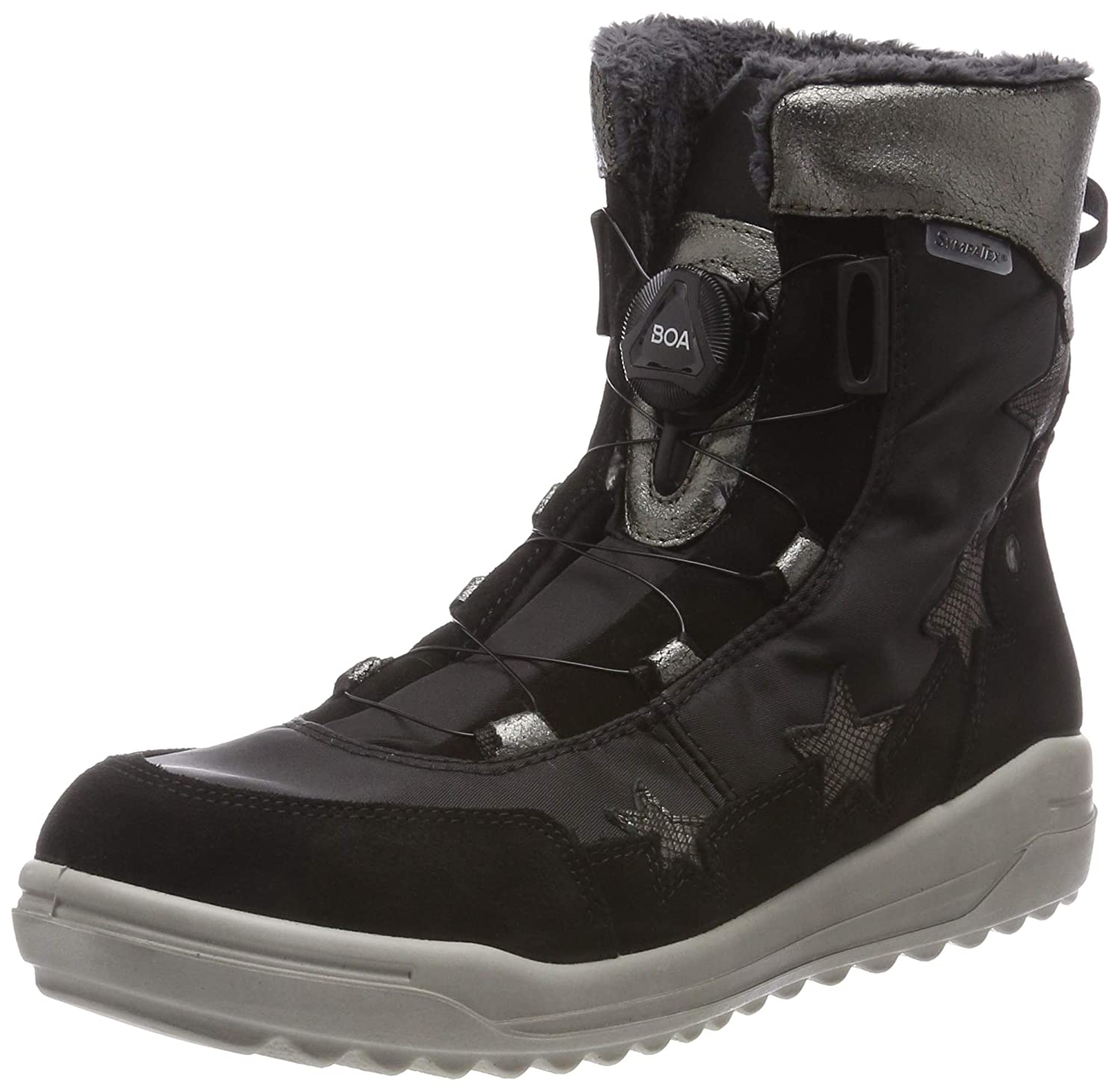 on sale 7633c 0808e RICOSTA Girls' Sanja Snow Boots: Amazon.co.uk: Shoes & Bags