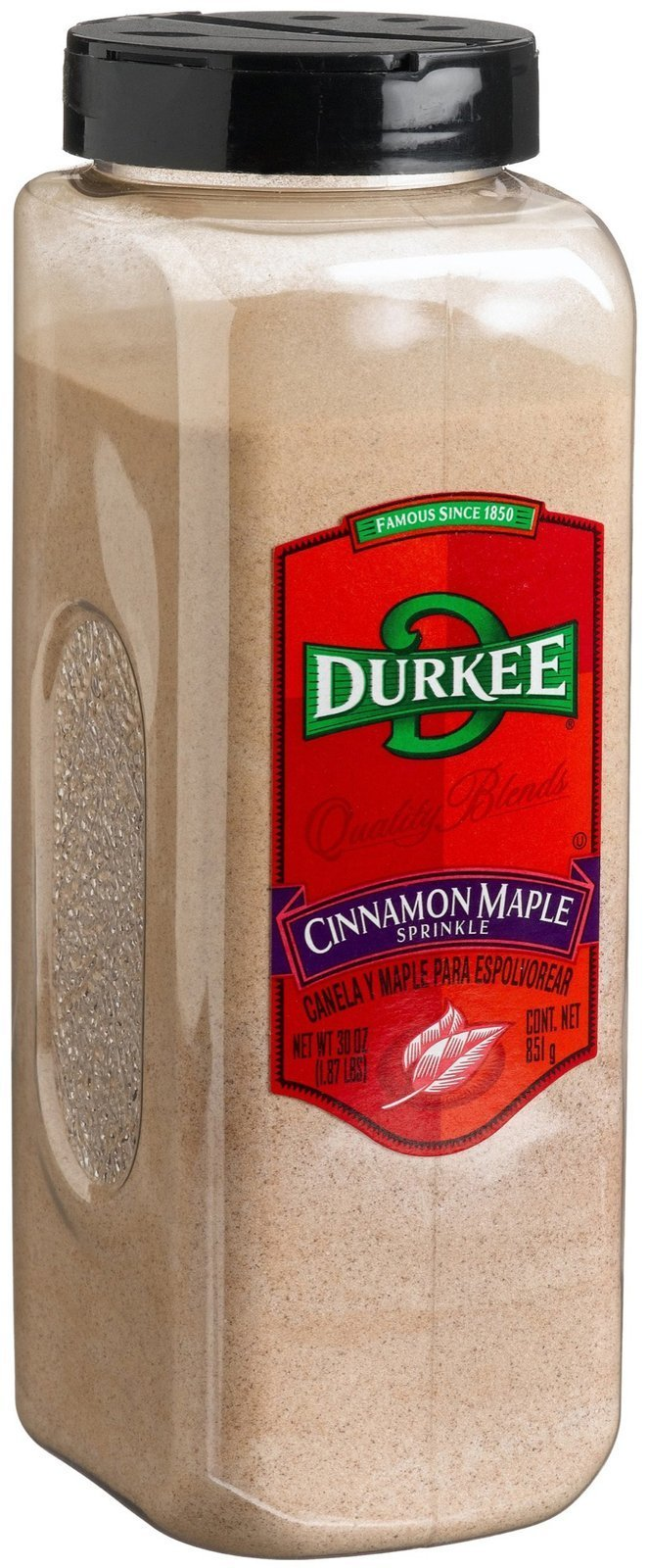 Durkee Cinnamon Maple Sprinkle, 30oz