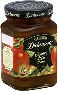 Fruit Butter Apple Country 9 Ounces (Case of 6)