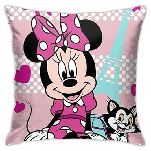 DailiH Mickey Mouse y Minnie Mouse Throw Pillow Covers ...