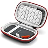 Hard Travel Case for SanDisk Extreme PRO 1TB / 2TB/ 250GB / 500GB Extreme Portable SSD, Carrying Storage Bag - Black…