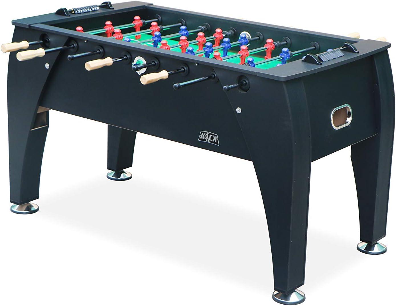 Amazon Com Kick Legend 55 Foosball Table Black Sports Outdoors