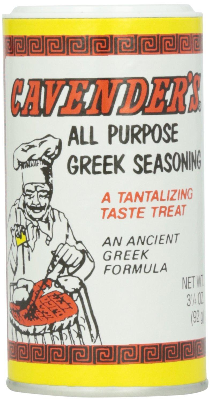 Cavender Greek Seasoning, 3.25 oz