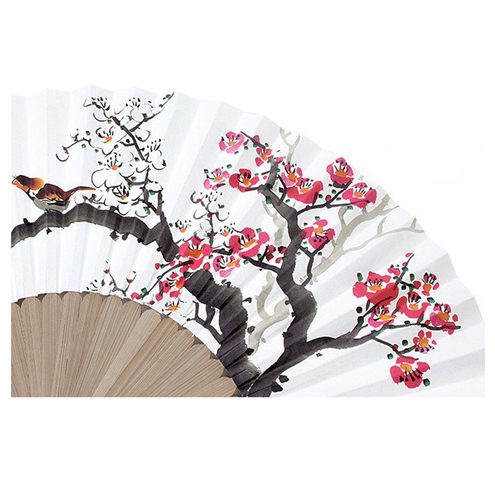 Amazon Korean Traditional Bamboo Hanji Hand Fan Large Folding