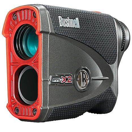 Bushnell Pro X2 Medidores Laser de Golf, Negro/Rojo, Talla ...