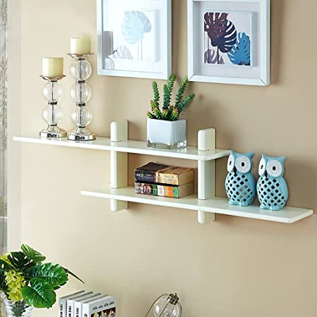 Ordinaire Amazon.com: Gspsgj Creative Wall Shelves, Wall Wall Frame, Multi Purpose  Storage Rack, Solid Wood Shelves, Decorative Rack (Color : A): Kitchen U0026  Dining
