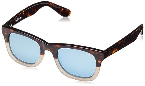 Wolfnoir, KIARA JK QUINTESSENTIAL - Gafas De Sol unisex multicolor (carey marrón/blanco/azul degradado), talla única