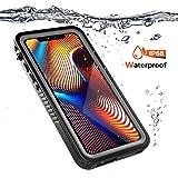 Mrstar iPhone Xr シェル, 防水 [スクラッチ/防塵の] アクセサリー 鎧 弁護者 スリム 衝撃吸収 緩衝器 シェル 水中 シェル 電話 バッグ の iPhone Xr -
