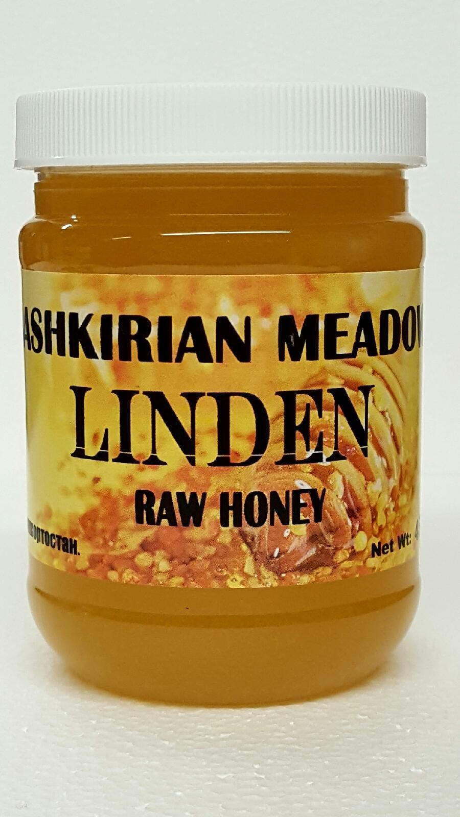 Bashkirian Raw Linden Honey 454G/16oz