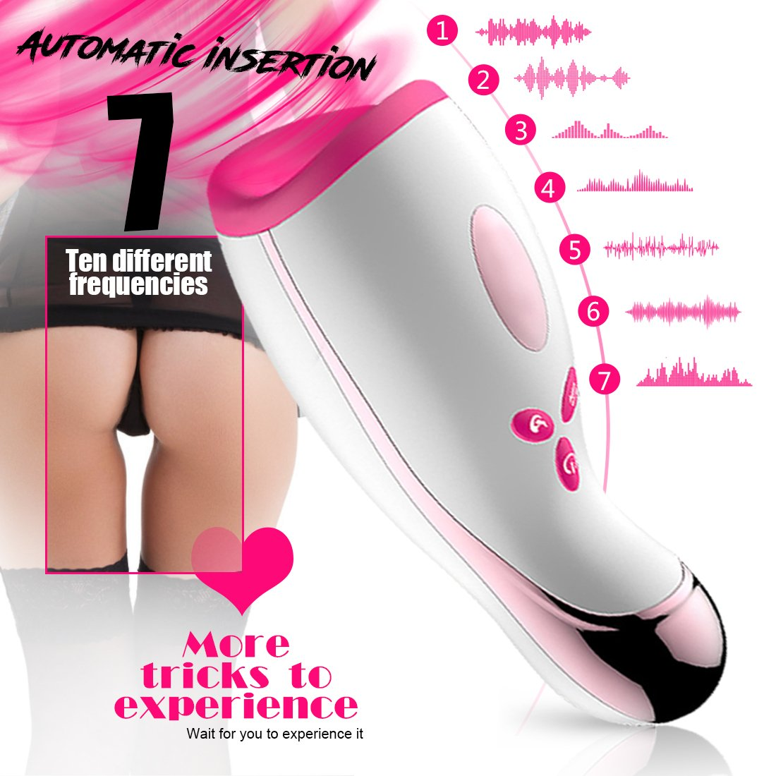 USB Rechargeable /Αutomatical /Šucking White Rotating /Šucktion /Αircraft Cup Electric Male for Man Vibration