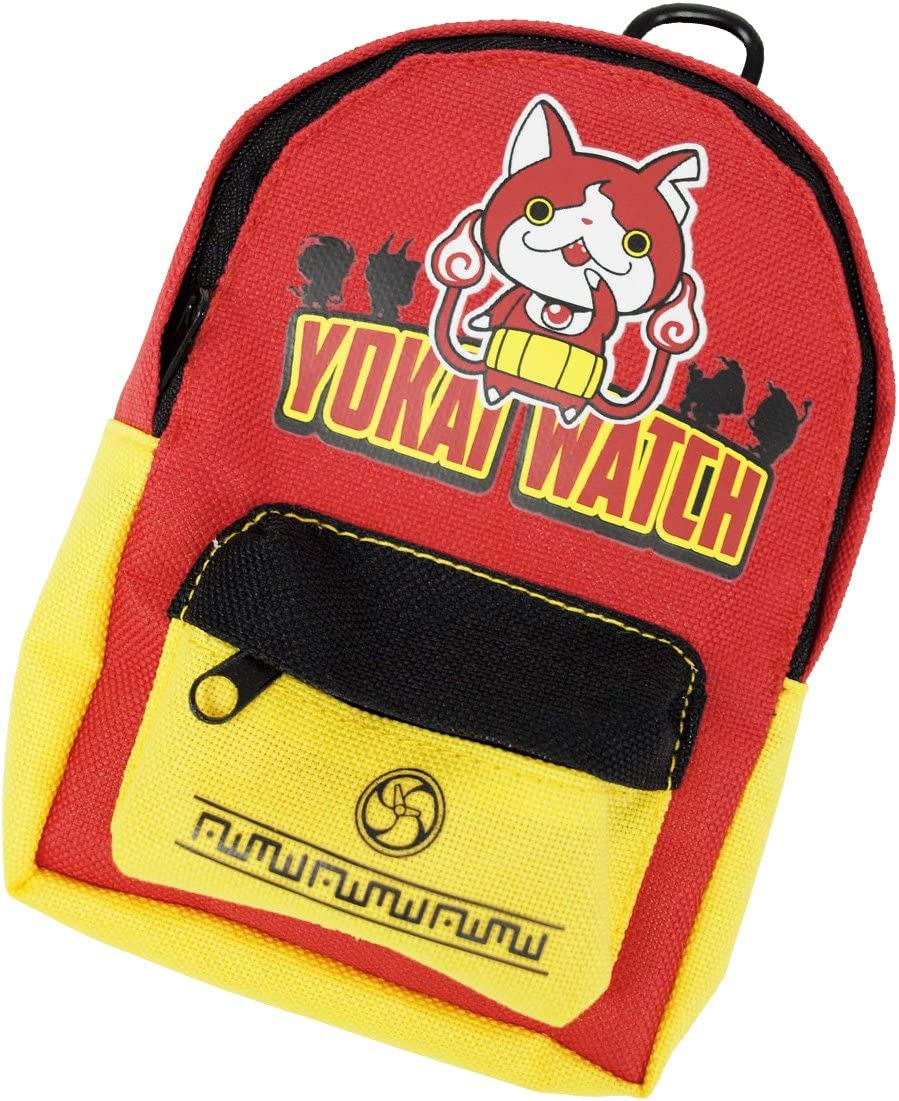 Yokai Watch carabiner-type backpack pouch [Jibanyan] by Bandai: Amazon.es: Deportes y aire libre