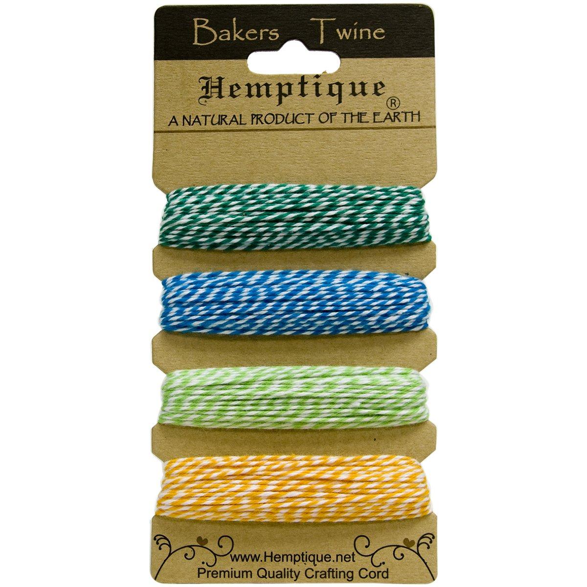 120 Hemptique Cotton Bakers 2-Ply Twine btc2tf Tutti-Frutti 120/' Trade Marker Inc