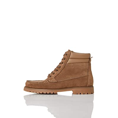 Amazon Brand - find. Men's Leather Chukka Boots: Shoes