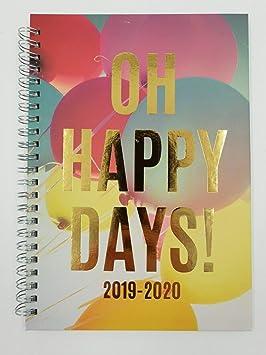 Agenda escolar de año académico 2019/2020, tamaño A5, vista ...