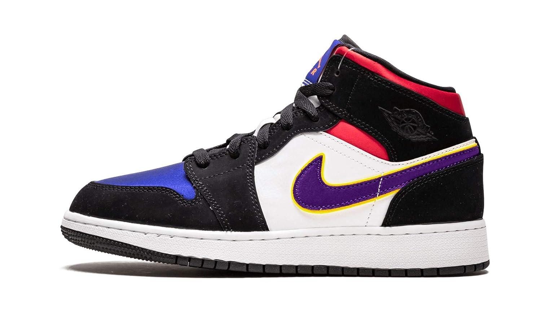 Nike Air Jordan 1 Mid SE GS, Zapatillas para niño, Zapatillas de ...
