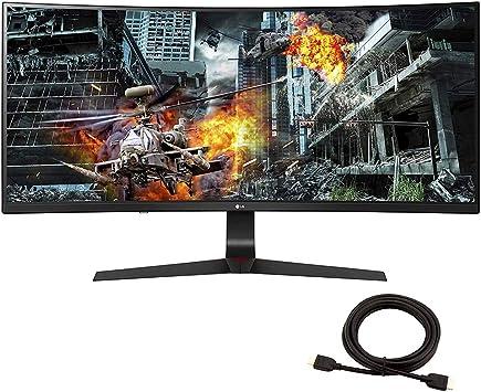 2020 LG 34GL750-B 34 pulgadas 21: 9 Ultragear curvado WFHD 1080P ...