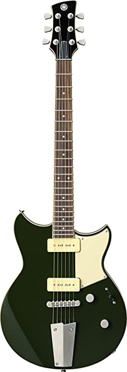 Amazon.com: Yamaha RevStar RS502 Electric Guitar with Gig Bag, Billet Green: Musical Instruments