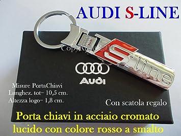 Llavero Audi S-Line: Amazon.es: Coche y moto