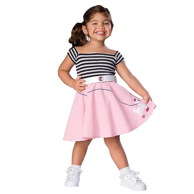 Sock Hop Costume Toddleru0027s Size ...  sc 1 st  Amazon.com & Amazon.com: Sock Hop Costume: Toddleru0027s Size 2-4: Clothing