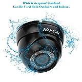 KKMOON TP-E225iRE 1/3 Sony cmos 1200TVL couleur 36IR 2. 8 ~ 12 mm Vari Zoom caméra dôme de sécurité Surveillance