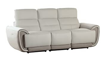 Homelegance Modern Valda Two-Tone Power Double Reclining Sofa Top Grain Leather Fabric Match  sc 1 st  Amazon.com & Amazon.com: Homelegance Modern Valda Two-Tone Power Double ... islam-shia.org