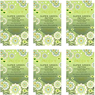 product image for Pacifica Super Green Detox Facial Mask, 12Count
