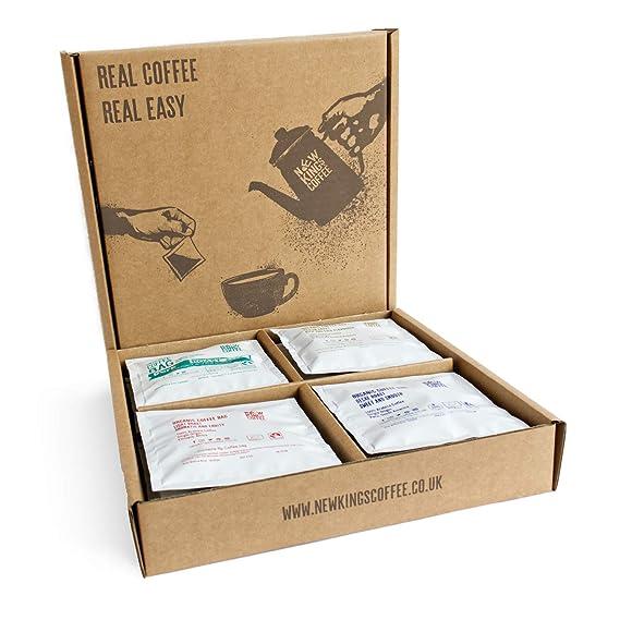 Quality Ground Coffee Bags Fairtrade Organic Single Origin 100 Arabica Selection Box Box Of 16 Individually Wrapped Coffee Bags