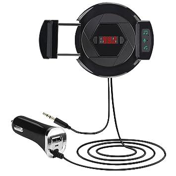 Bluetooth transmisor de Radio FM, Elyzia Hi-Fi inalámbrico ...