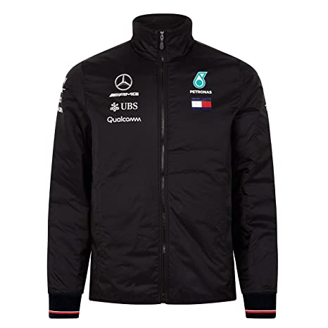 Details about 2019 Mercedes AMG F1 Team Mens Short Sleeve Shirt Lewis Hamilton Tommy Hilfiger