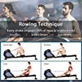Merax Magnetic Resistance Rowing Machine