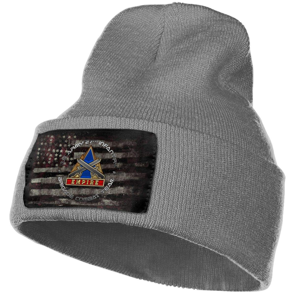 27th Infantry Brigade DUI Mens Beanie Cap Skull Cap Winter Warm Knitting Hats.