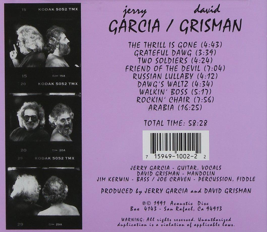 David Grisman / Jerry Garcia by Acoustic Disc
