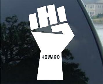 Howard Stern FIST Car Decal Sticker White