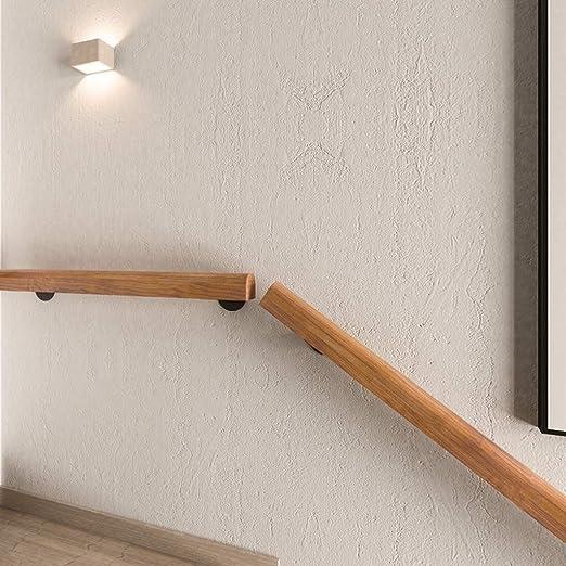 Escaleras pasamanos de la escalera, barandilla Interior retro pasamanos de la escalera de madera maciza, 30-600cm pasamanos de la escalera tubería, adecuados for uso en interiores de hotel de interior: Amazon.es: Hogar