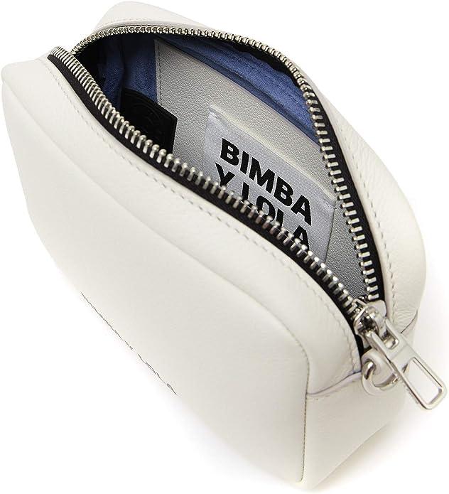 Bimba y Lola 192BBTO1W - Bolso cruzado de piel para mujer: Amazon.es: Zapatos y complementos