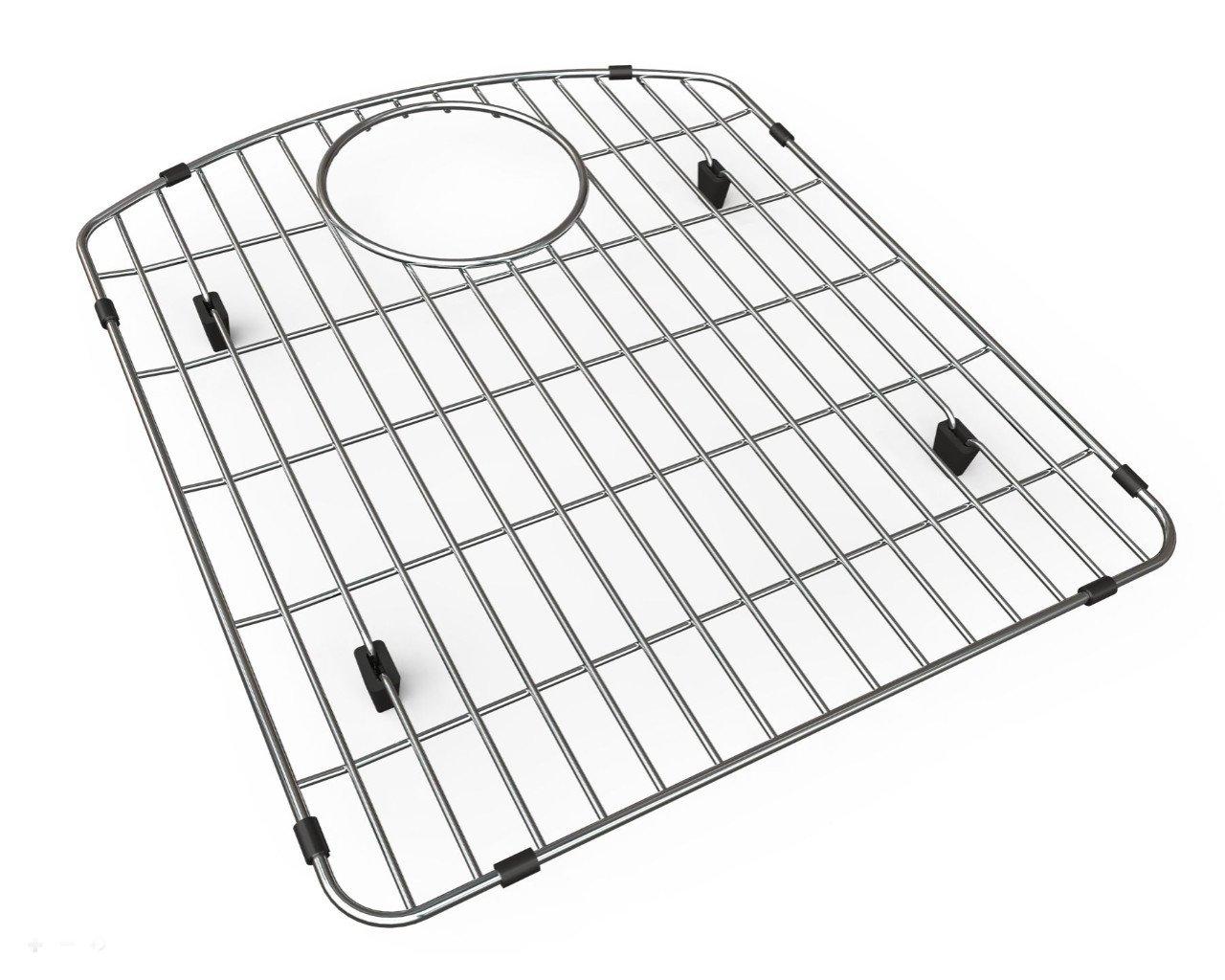 Elkay LKOBG1618SS Gourmet Bottom Grid for ELGH(U)3322R (left bowl), Stainless Steel