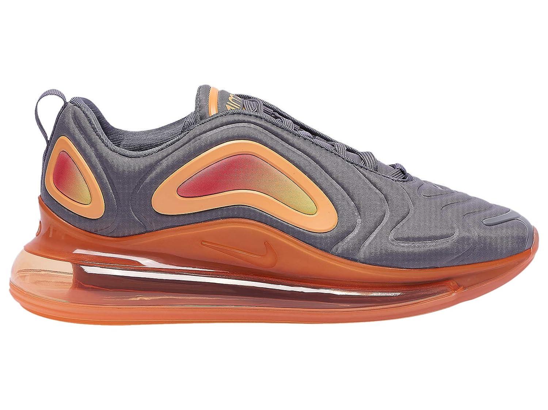 Nike Men's Air Max 720 Gunsmoke/Fuel オレンジ Mesh Running Shoes 7.5 M US