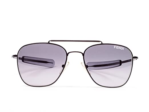 Amazon.com: Fendi Aviator anteojos de sol (fs5217l), Negro ...
