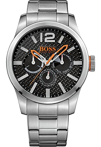 343c4ccc0085 Hugo Boss Orange 1513238 - Reloj de pulsera analógico para hombre (correa  de acero inoxidable