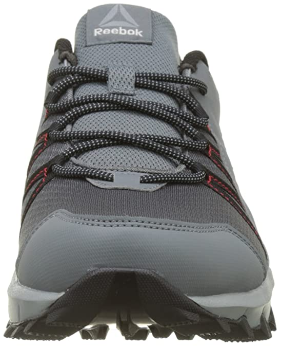 Mens Trailgrip 6.0 Nordic Walking Shoes, Grey (Alloy/Flint Grey/Black/Primal Red), 7 UK 40.5 EU Reebok