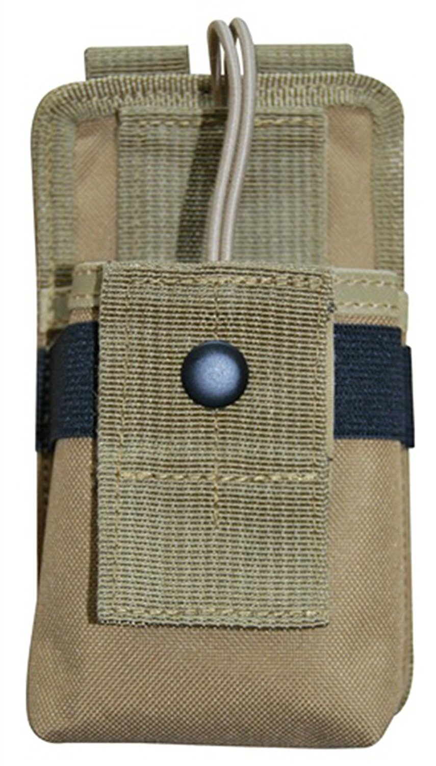 Ultimate Arms Gear Tan MOLLE Radio Pouch For BaoFend Radios