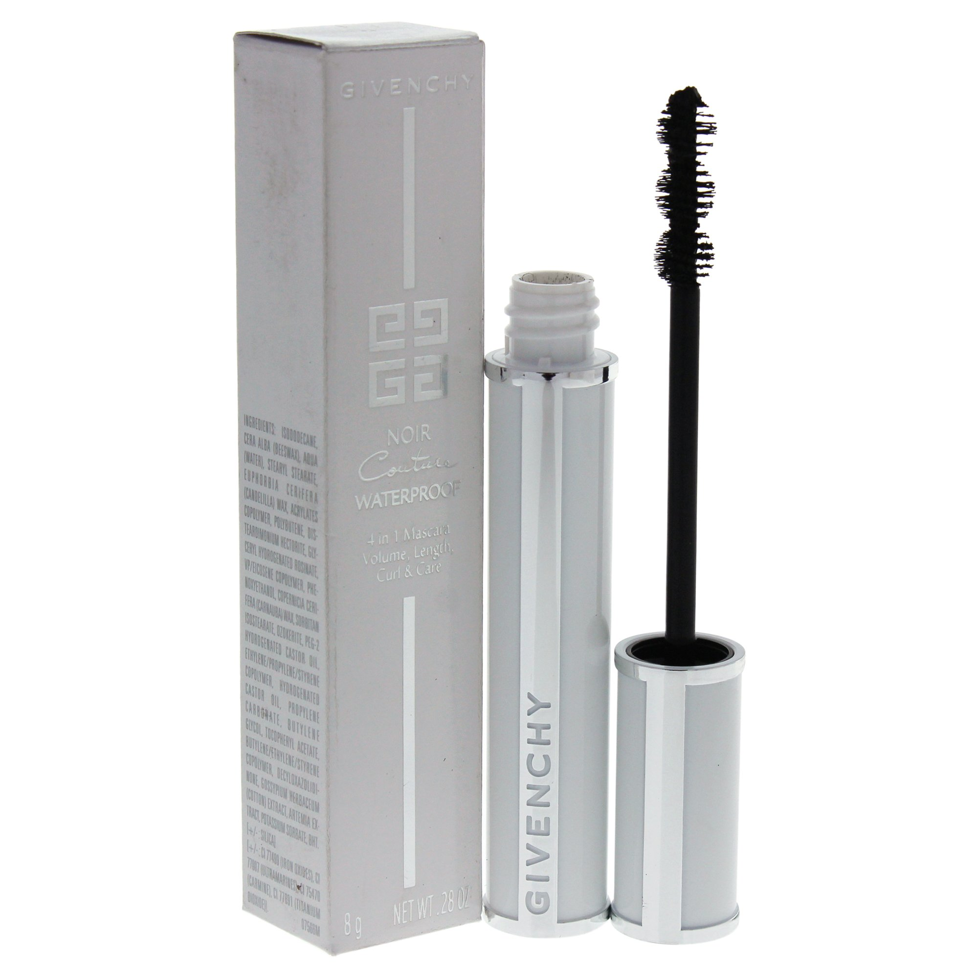 Givenchy Noir Couture Waterproof 4-in-1 Mascara, Black Velvet, 0.28 Ounce by Givenchy