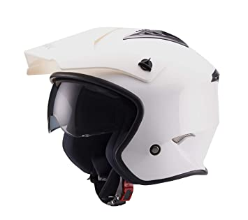 Amazon.es: Unik - Casco JET Trial CT-07 C/Gafas Spider ...