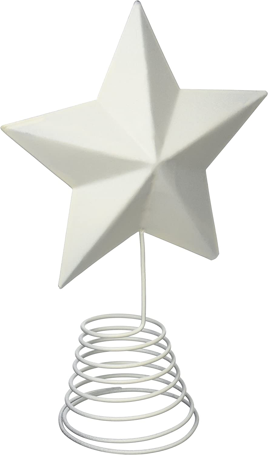 Craft Outlet Inc Craft Outlet 14 Rustic Tin Star On Stick Set of 6 Brown